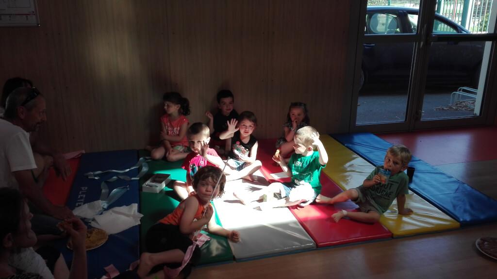 08- Goûter Gym enfants juin 2018